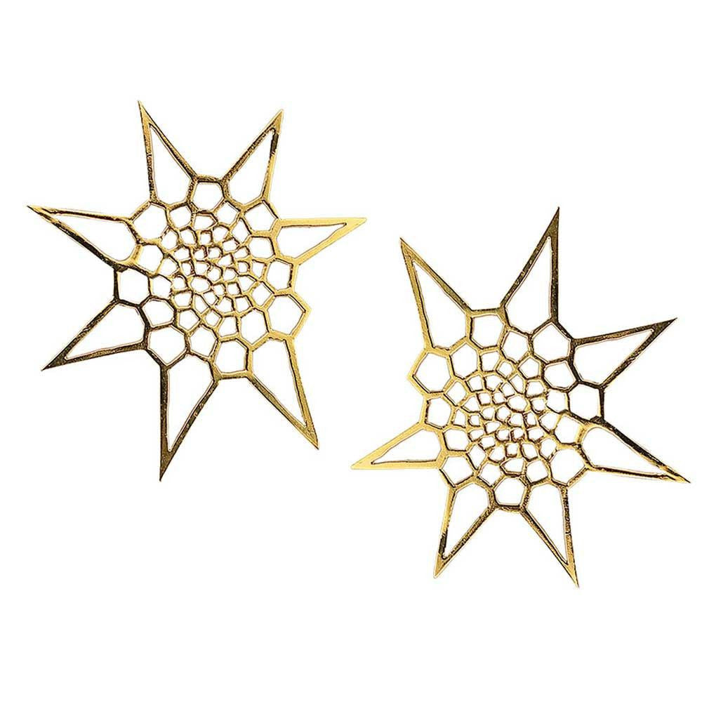 Star Cell Fractal Studs
