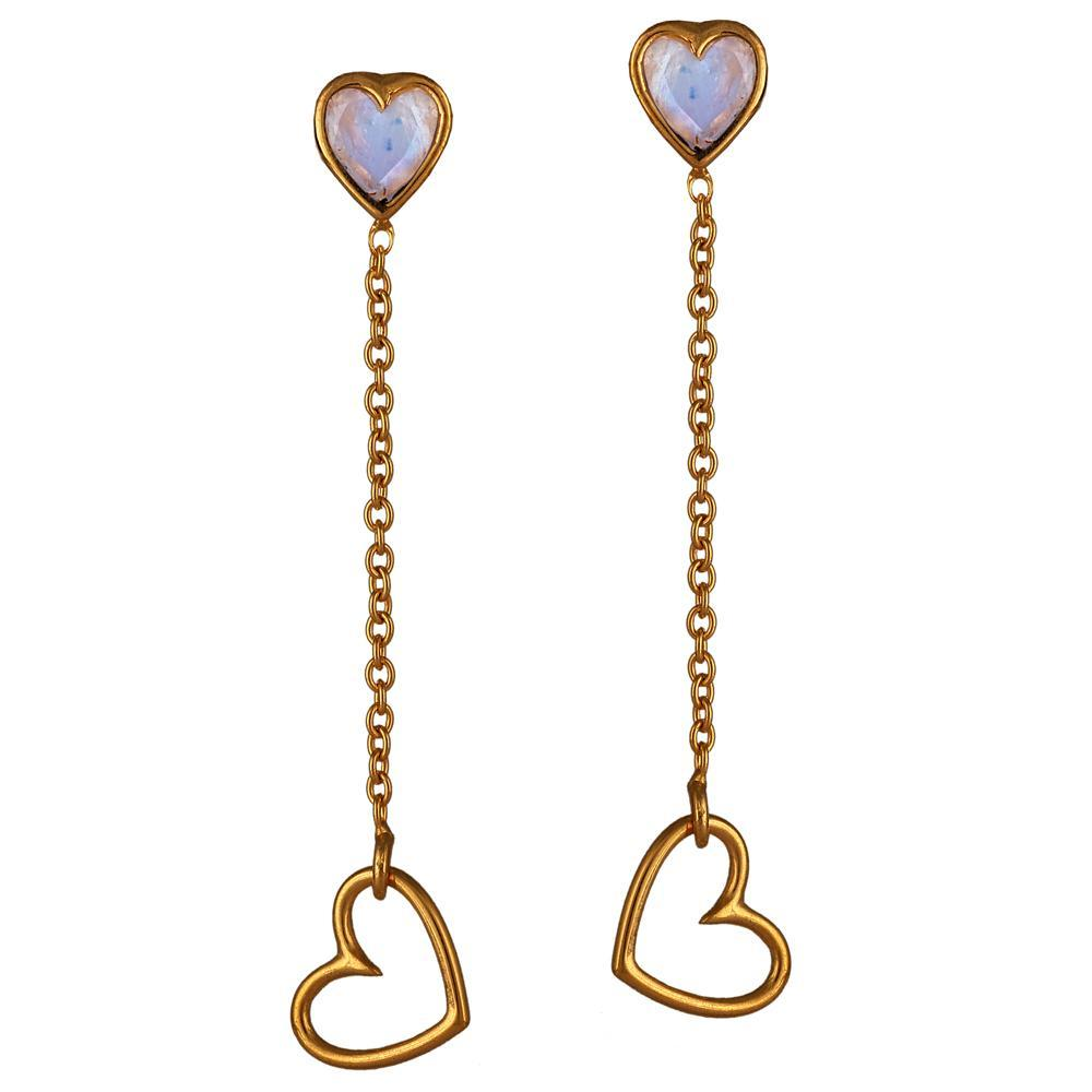 Sparkle Drop Earrings - Eina Ahluwalia