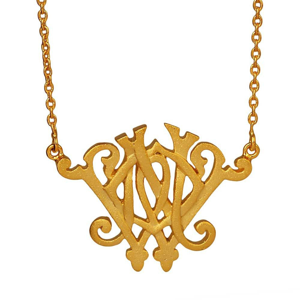 We Only Have Now Necklace - Large (Available in 2 colours) - Eina Ahluwalia