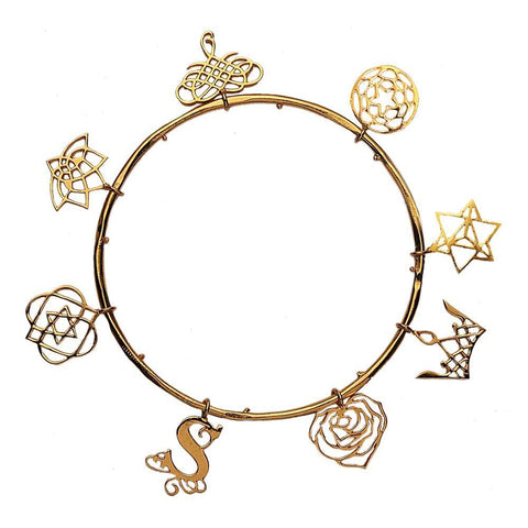 Eina Ahluwalia Charm Bangle