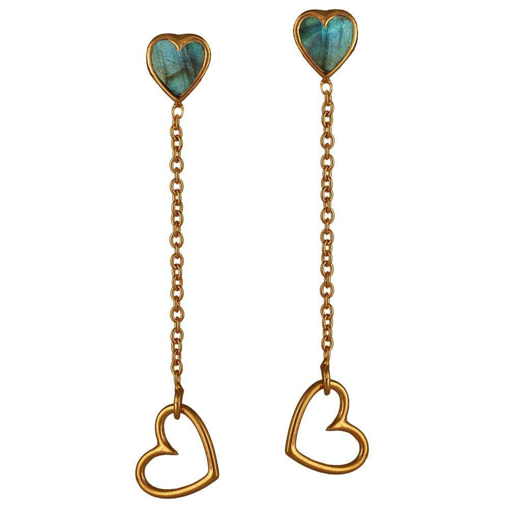 Glow Drop Earrings - Eina Ahluwalia
