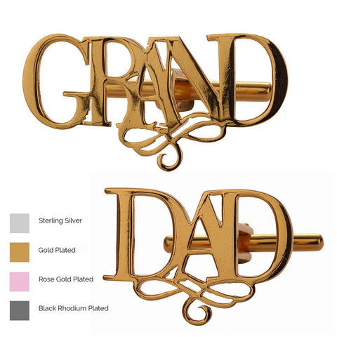 Cufflinks for Grand Dad
