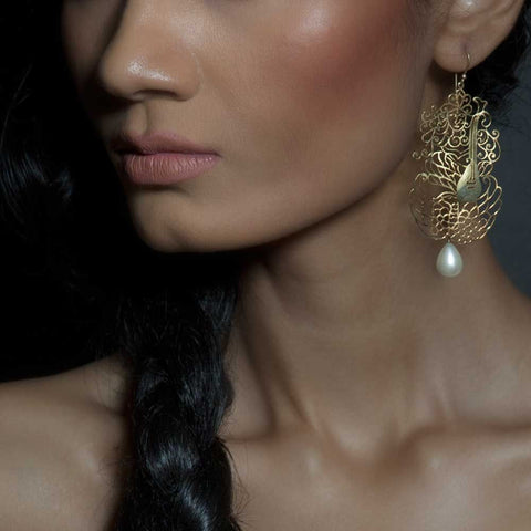Saraswati Earrings