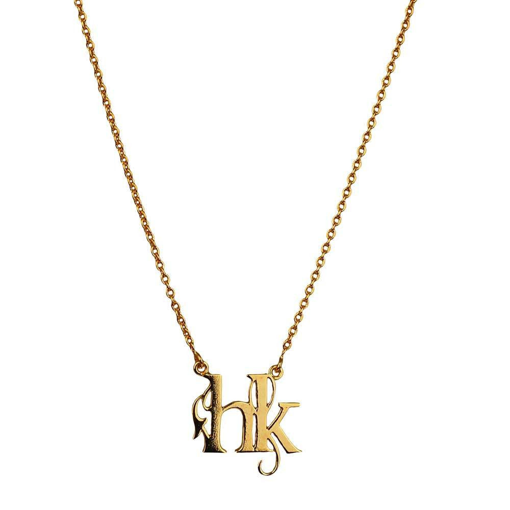 Monogram Necklace - Eina Ahluwalia