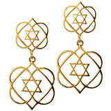Lead From the Heart Double Earrings - Eina Ahluwalia