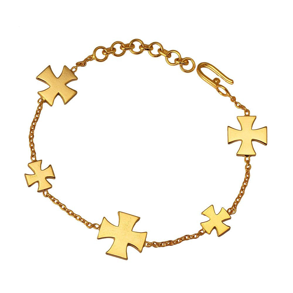 Medal of Valour Bracelet (Available in 3 colours) - Eina Ahluwalia