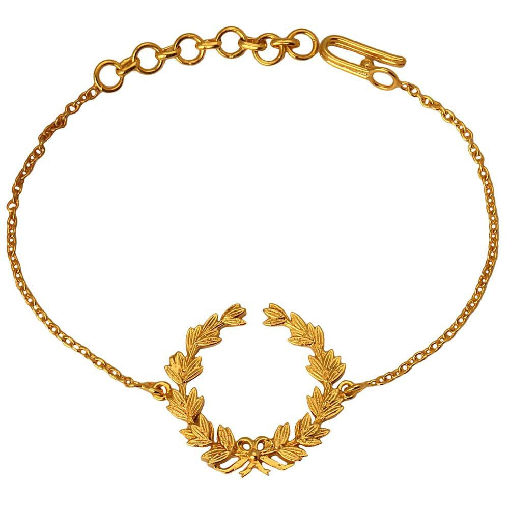 Wreath of Honour Bracelet (Available in 2 colours) - Eina Ahluwalia