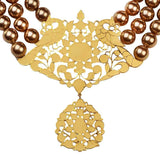 Incorruptible Choker with Pearls - Eina Ahluwalia