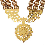 Awakening Necklace with pearls - Eina Ahluwalia