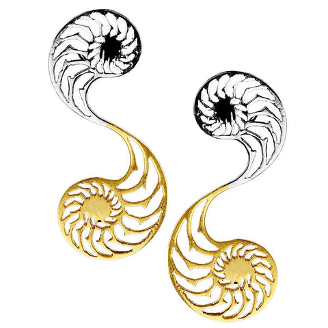 Nautilus Earrings-Small