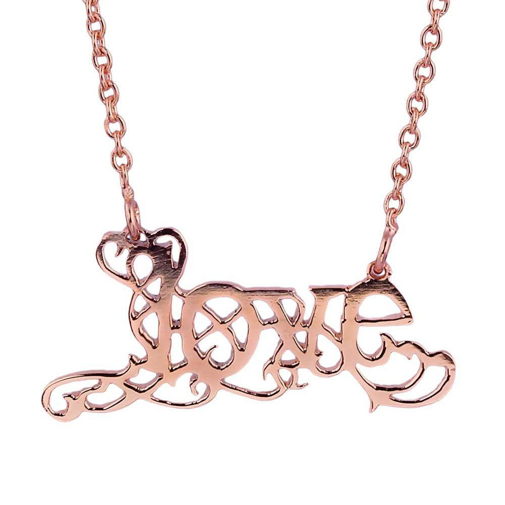 Love Necklace (Available in 3 colours) - Eina Ahluwalia