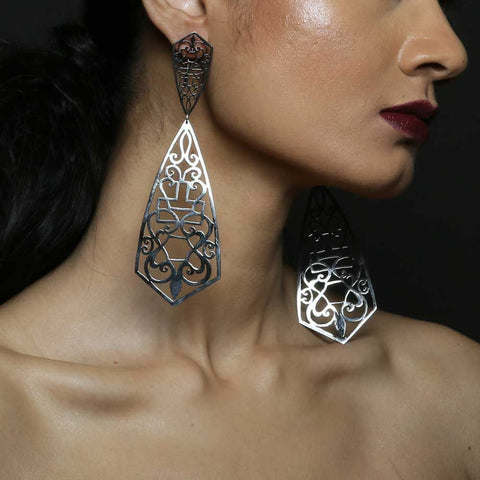 MQ Arrowhead Earrings
