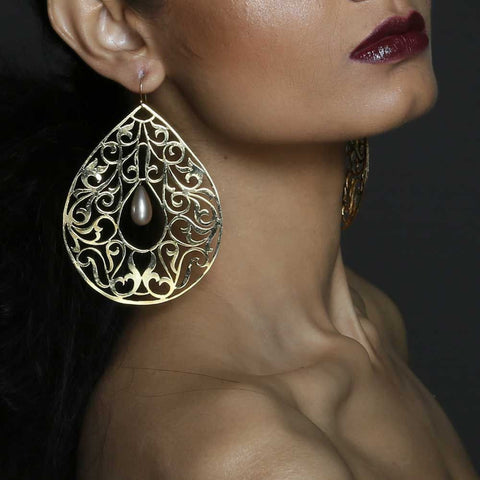 MQ Byzantine Earrings
