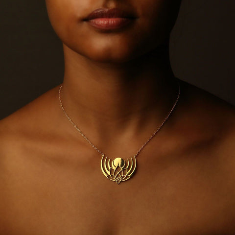 Crown of Selene Necklace
