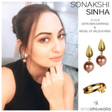 Sepia Rain Earrings - Eina Ahluwalia