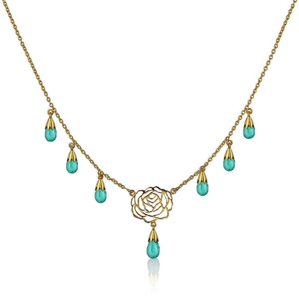 I Rose Necklace - Apatite - Eina Ahluwalia