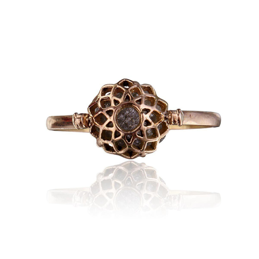 Miracle Ring - Reversible - Rough Diamond - Eina Ahluwalia