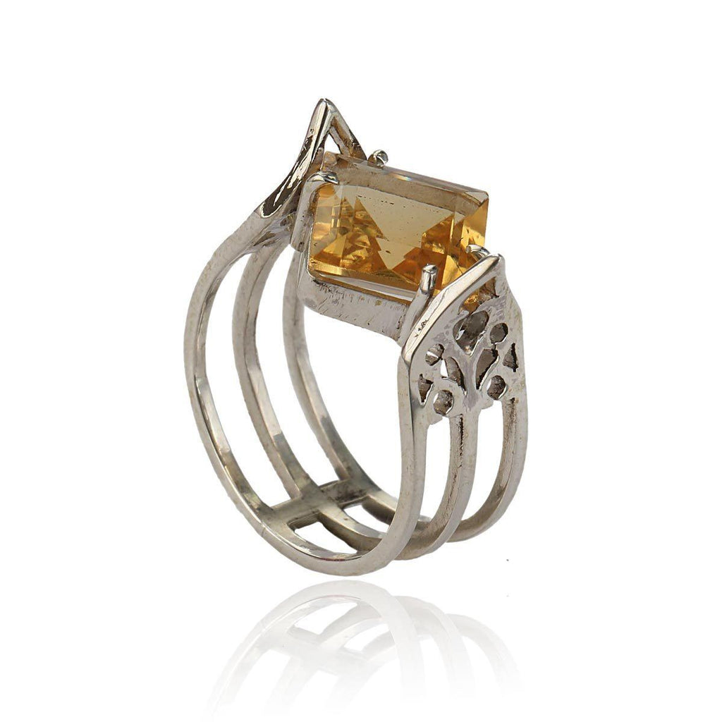 Aspire Ring - Citrine - Eina Ahluwalia