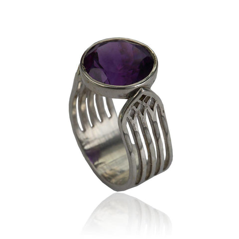 Aspire Ring - Amethyst