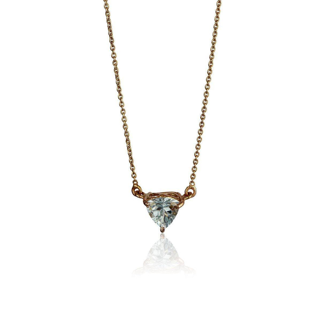 Co-create Necklace - Aquamarine - Eina Ahluwalia