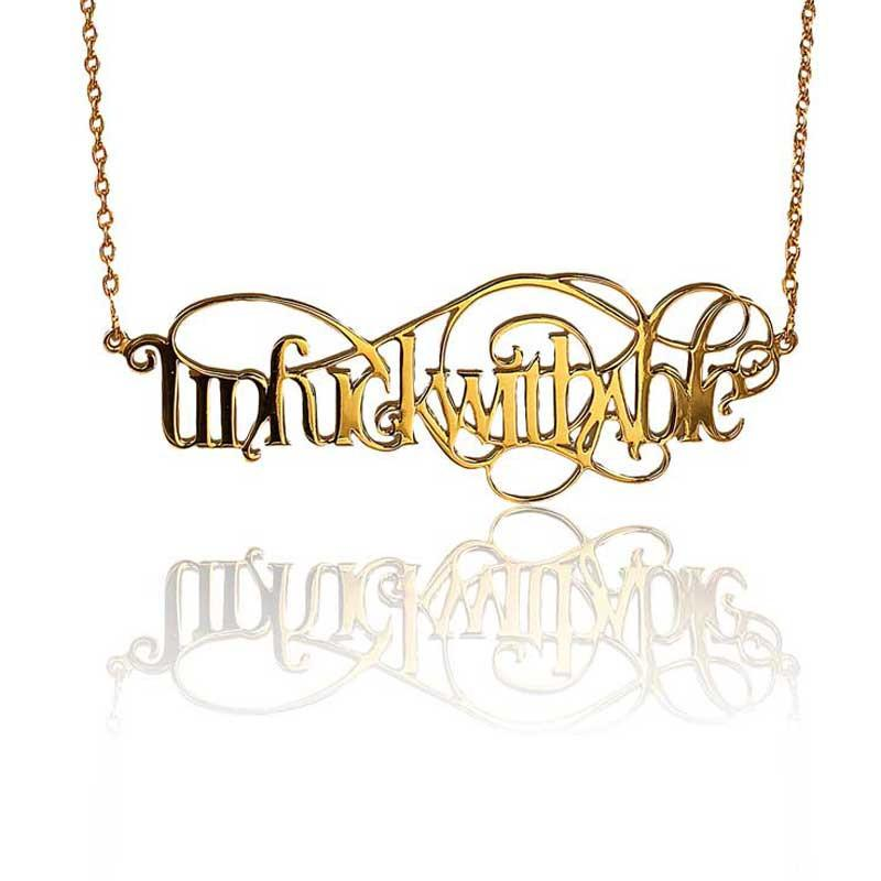 Unfuckwithable Necklace - Eina Ahluwalia