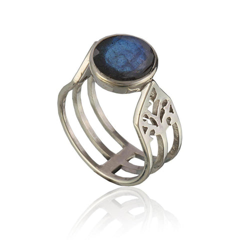 Aspire Ring - Labradorite