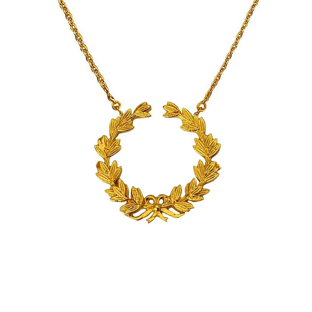 Wreath of Honour Necklace - Small (Available in 2 colours) - Eina Ahluwalia
