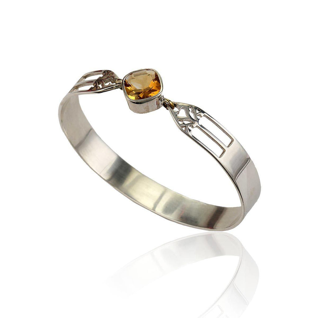 Aspire Bangle - Citrine - Eina Ahluwalia