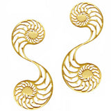 Nautilus Earrings - Large