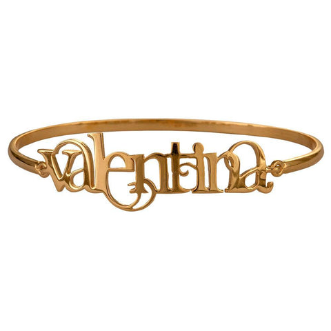 Name Bangle - English