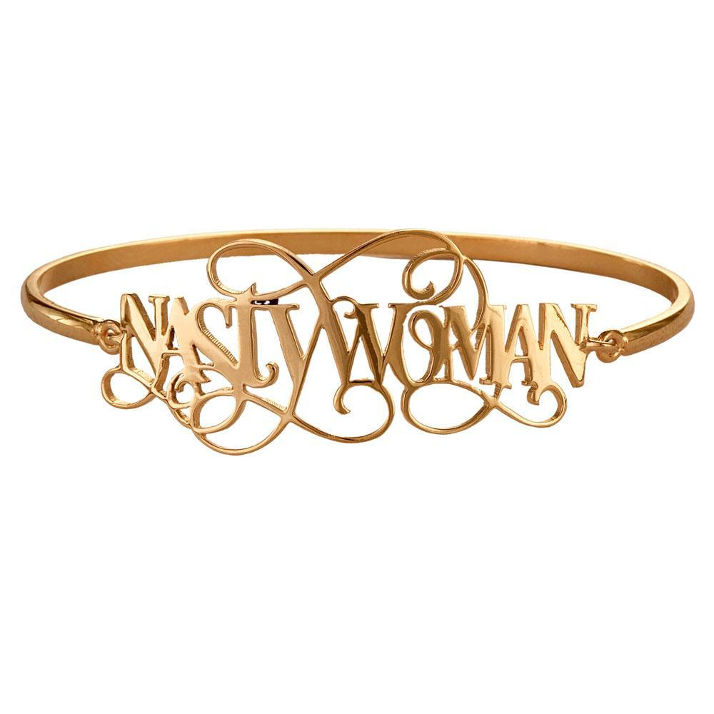 Nasty Woman Bangle - Eina Ahluwalia