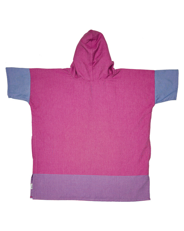 Majestic Purple Kids Poncho