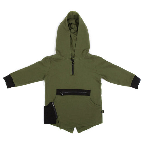 Fish Tail Hoodie Terry - Kid Kong NYC