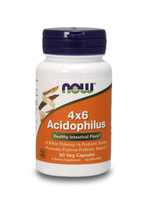 Acidophilus 4x6 60 caps - Пробиотик 60 капс.