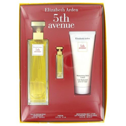 5TH AVENUE by Elizabeth Arden Gift Set -- 4.2 oz Eau De Parfum ...