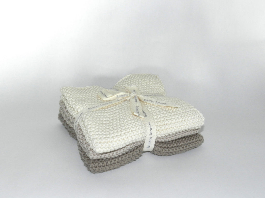 Set of 3 - Bianca Lorenne Wash Cloths