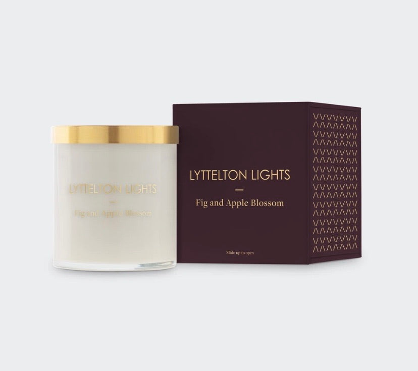 LYTTELTON LIGHTS FIG AND APPLE BLOSSOM (Medium)