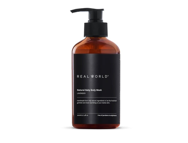 Real World Natural Baby wash