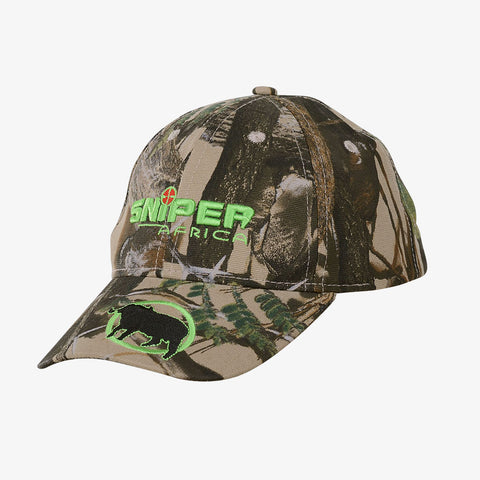 Kids Green Embroidered Cap