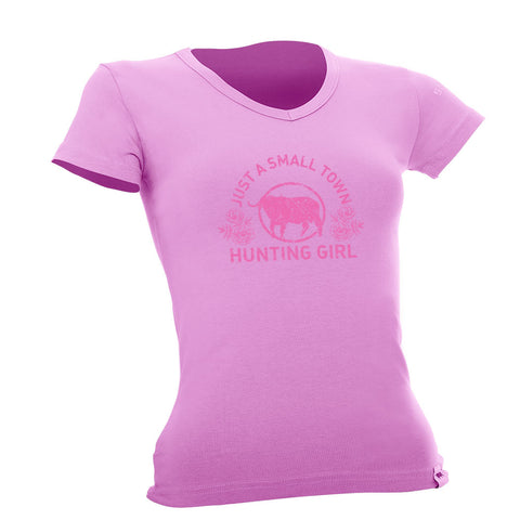 Small Town Hunting Girl T-Shirt