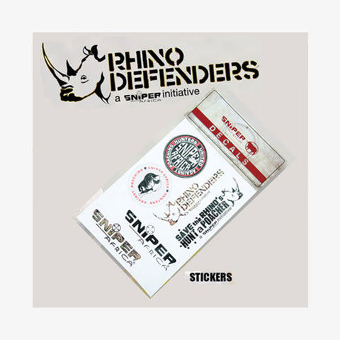 Rhino Defenders Stickers