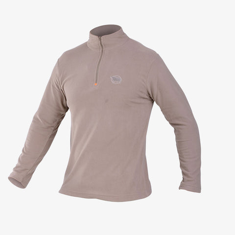 Mens Khaki Fleece Top