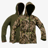 Mens Soft Shell Reversible Hoodie