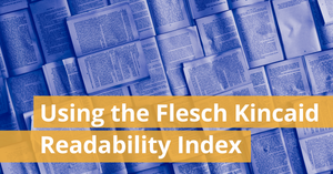 Using the Flesch Kincaid Readability Index