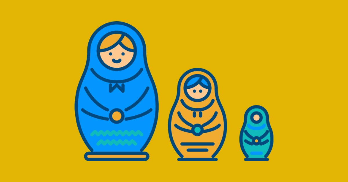 Why a cognitive verbs glossary is like a set of Russian dolls...