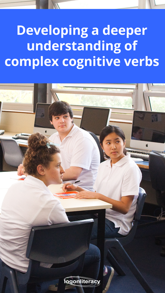 Encourage a deeper understanding of complex cognitive verbs