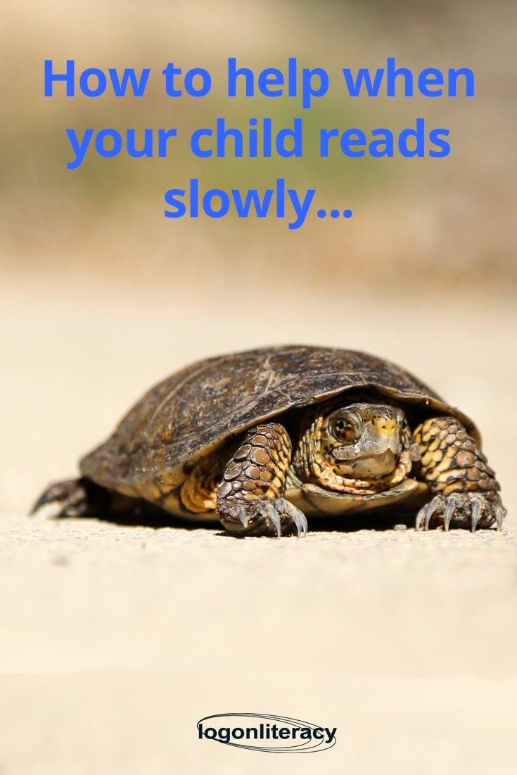 How to help when your child reads slowly...