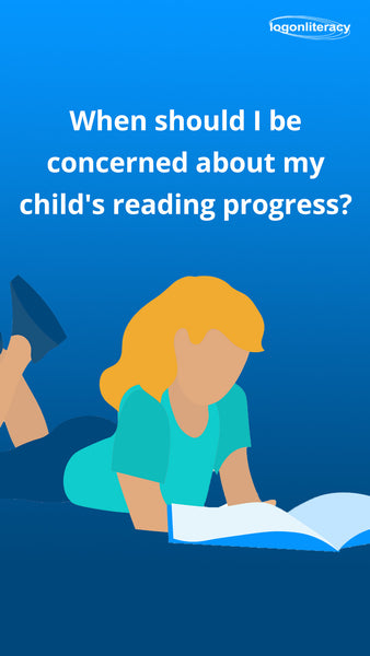 Should I be concerned about my child's reading progress   logonliteracy