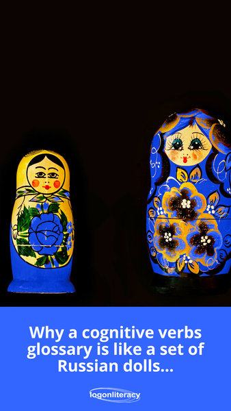 Why a cognitive verbs glossary is like a set of Russian dolls | Logonliteracy