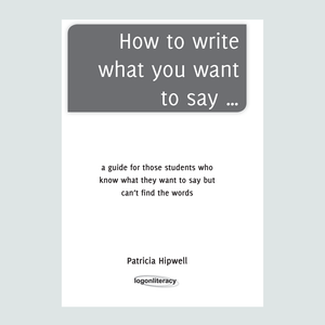 How to write what you want to say... in the primary years